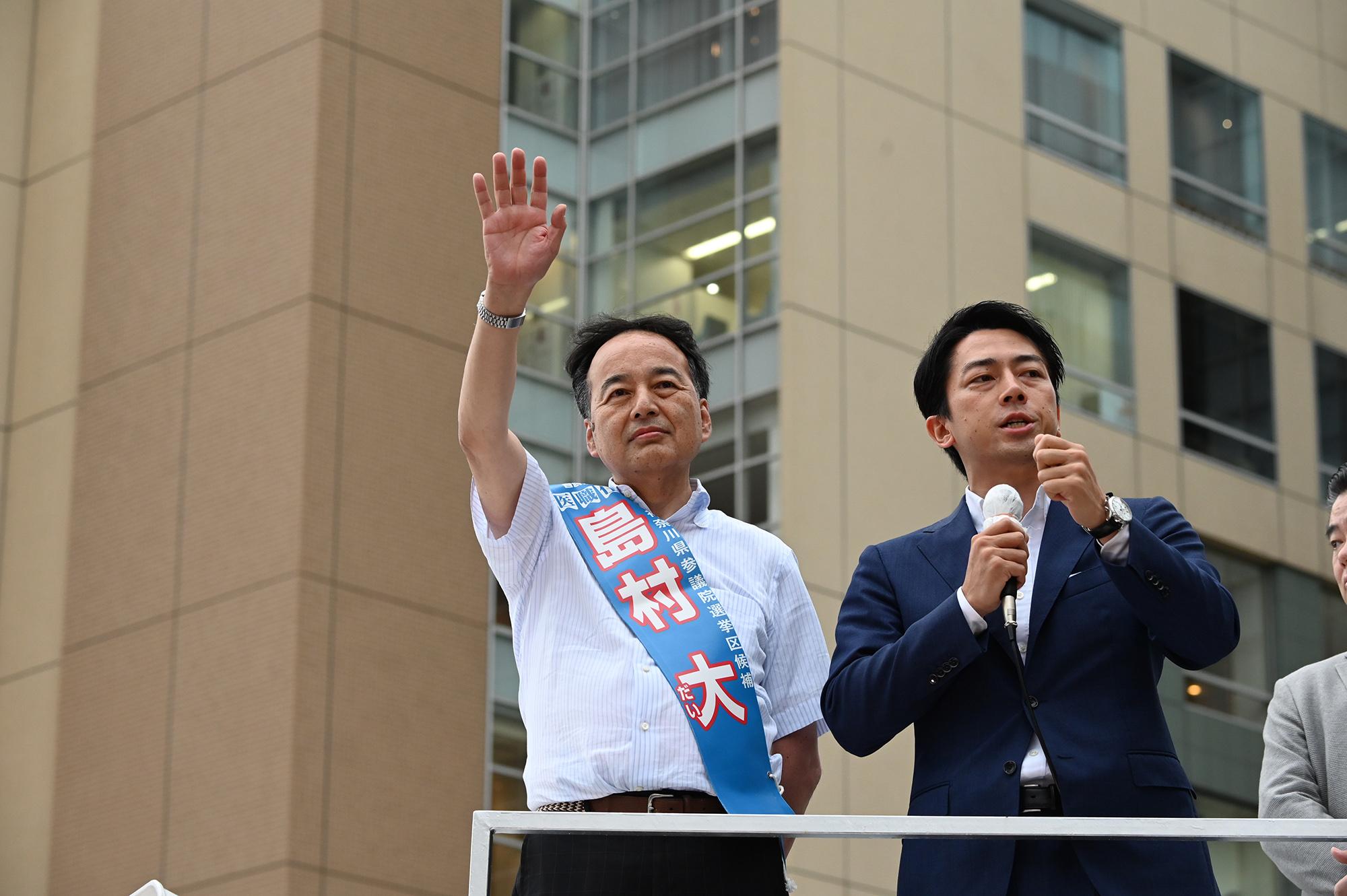 【7月6日】選挙戦3日目!