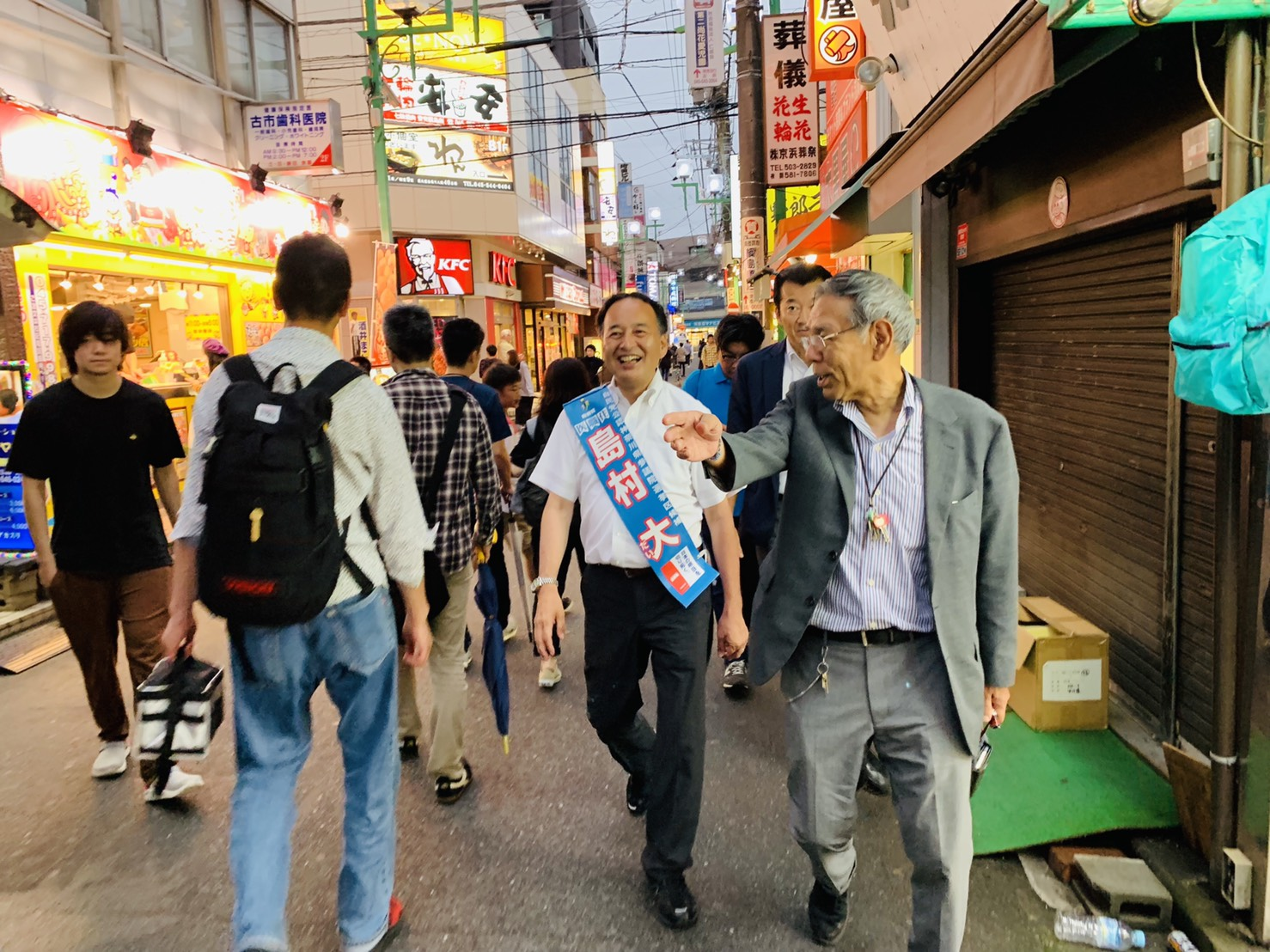 【7月14日】選挙戦11日目!