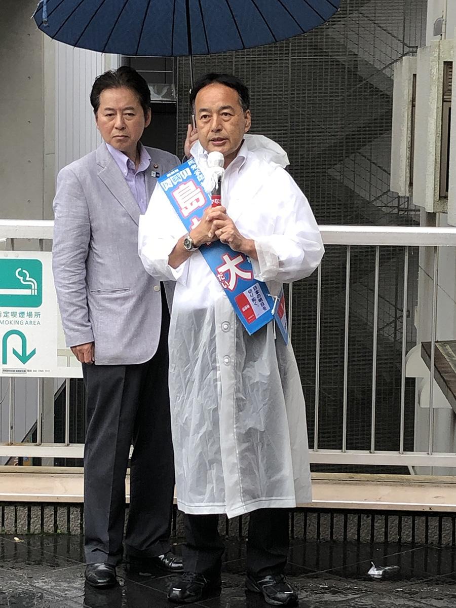 【7月15日】選挙戦12日目!