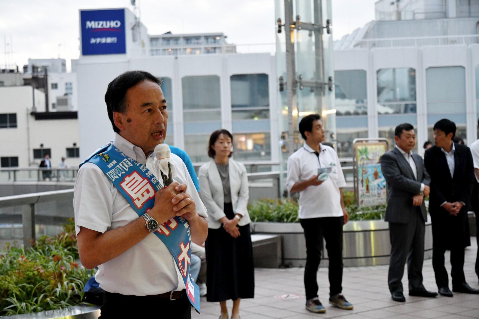 【7月17日】選挙戦14日目!
