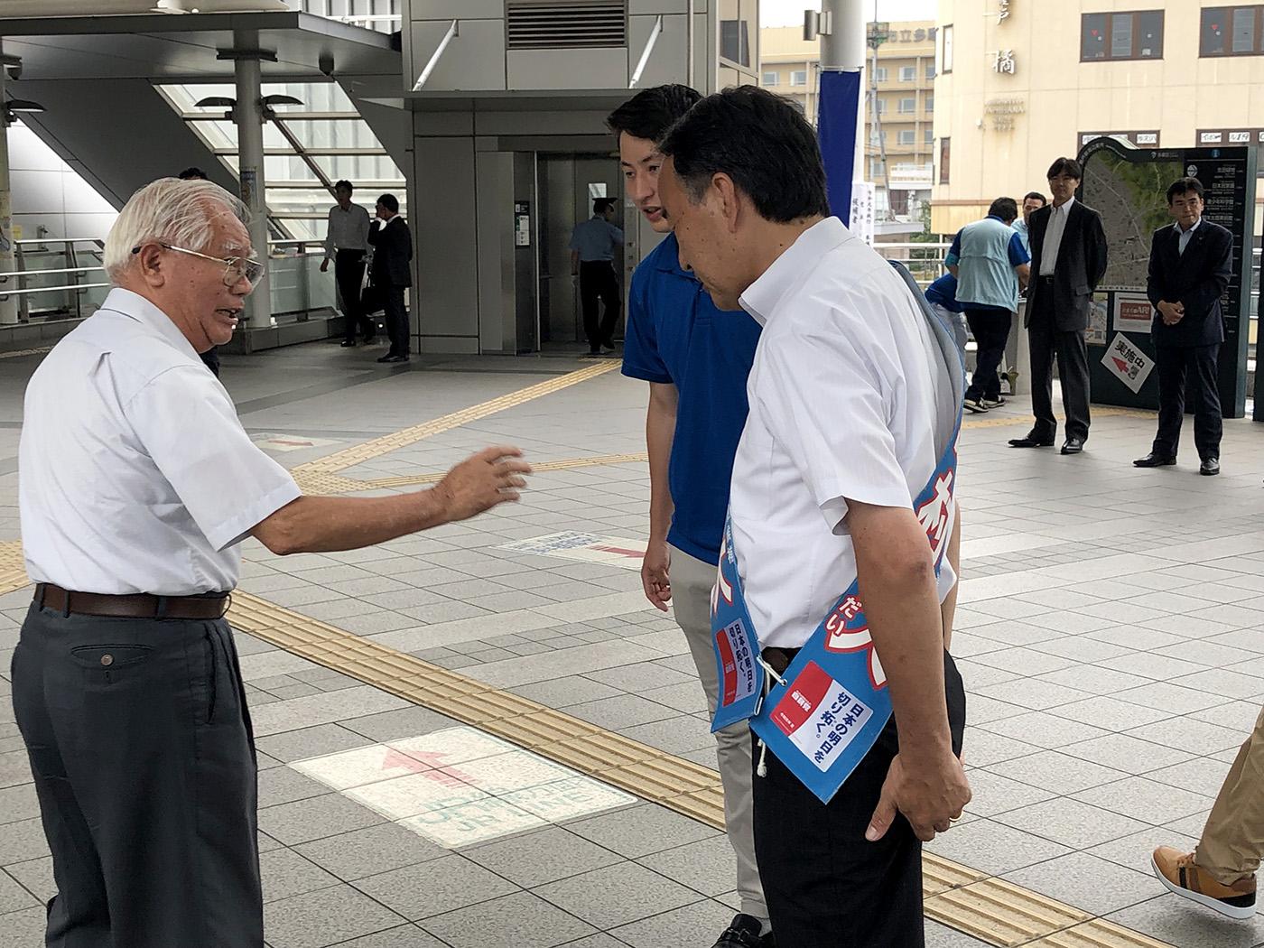 【7月20日】選挙戦17日目!