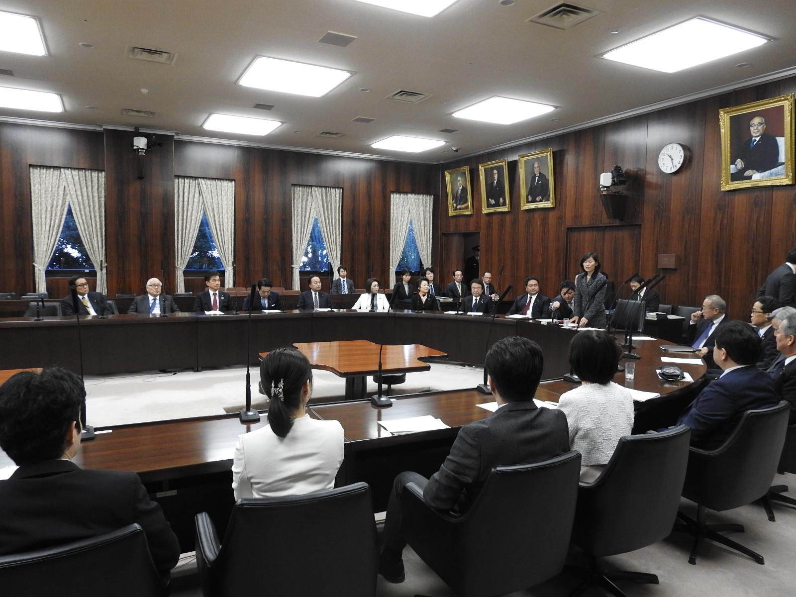 今国会も設置が決まった北朝鮮拉致問題等特別委員会